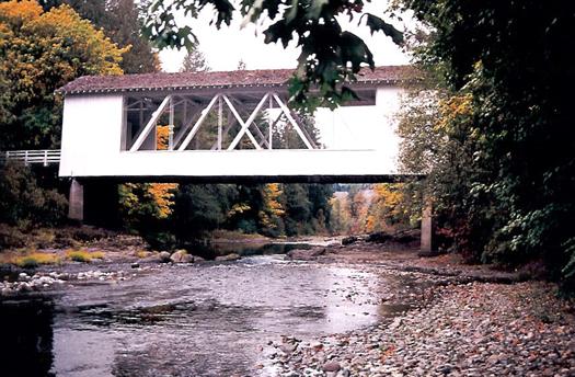 The Short Bridge Linn County Oregon