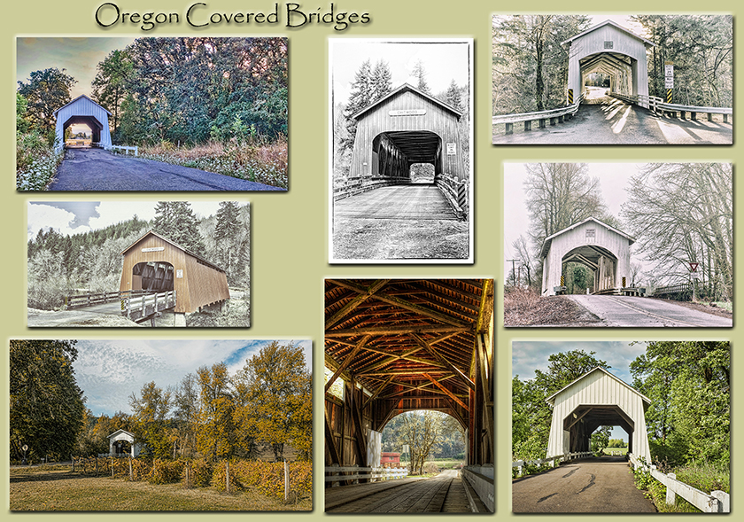 Find Covered Bridges in Oregon